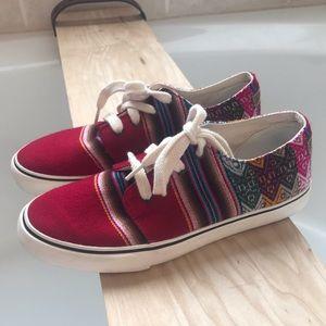 Mipacha handmade Peruvian shoes sz 8.5